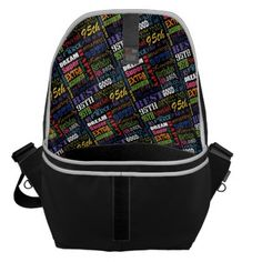 Special 95th Birthday Party Personalized Gifts Messenger Bag - typography gifts unique custom diy
