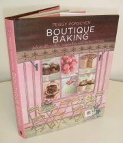 Sample pages from Peggy's forthcoming book entitled Boutique Baking. £20. Hardback. www.quadrille.co.uk