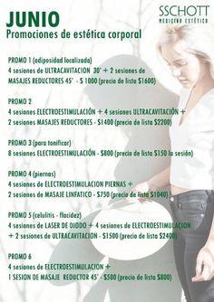 Arrancó JUNIO!!! No te pierdas nuestras PROMOCIONES de ESTETICA CORPORAL!!!