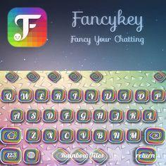My new keyboard, made with @FancyKey 👻✊👍👉 http://dl2.fancykeyapp.com #FancyKey