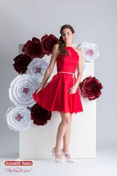 Menyecske ruha muszlin, rafinált nyakmegoldással Formal Dresses, Hot, Wedding, Fashion, Dresses For Formal, Valentines Day Weddings, Moda, Formal Gowns, Fashion Styles