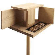 Amazon.com: Modern Birdhouse and Feeder - Frontgate: Patio, Lawn & Garden  #modern #birds
