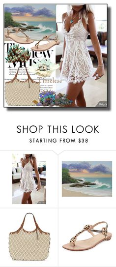 """""""set 151"""" by fahirade ❤ liked on Polyvore featuring NOVICA, Vince Camuto, Christian Louboutin and Reef"""