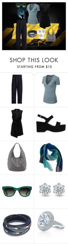 """""""Untitled #2237"""" by moestesoh ❤ liked on Polyvore featuring WALL, Vivienne Westwood Anglomania, SUGAR LIPS, Marc Jacobs, Bottega Veneta, Moschino, TOMS and Design Lab"""
