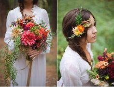 Earthy Bohemian Styled Shoot