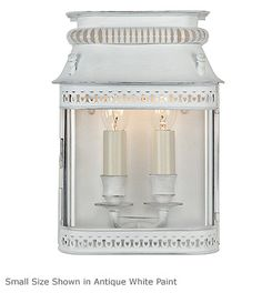 Parisienne Wall Lantern - Product WL 154