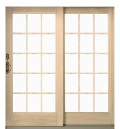 Sliding Glass Door French Patio Door By Anderson