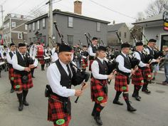 Lots of pride during the St. Patrick's Day Parade in #Newport, #RhodeIsland.