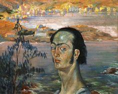 Autorretrato con cuello rafaelesco Pintado por Dalí entre 1920 y 1921 se trata de un óleo sobre lienzo de 41,5 x 53 centímetros donde el autor mostraba su fascinación por el pintor italiano.