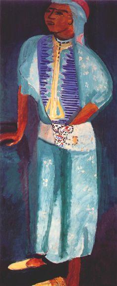 Fatma the Mulatto Woman by Henri Matisse, 1912