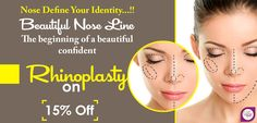 Rhinoplasty is a cosmetic procedure that improves the overall appearance of the nose. The nose can be made smaller or larger, the angle of the nose tip can be improved or the surgeon may remove the unwanted nasal hump. Breathing problems can also be . Rhinoplasty Surgery, Nose Surgery, Plastic Surgery Procedures, Cosmetic Procedures, Facial Cosmetic Surgery, Nose Reshaping, Perfect Nose, Nose Shapes, Cosmetic Treatments