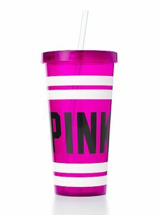 FREE PINK Tumbler in berry - FREE promo starting 2/20/14-2/24/14 (with any VS Pink! purchase)... I pick this one!!! *Begins @ 10:59 p.m. CST* <3