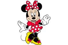 Minnie Mouse Vector Free - Bing images