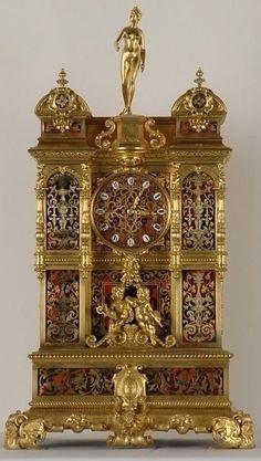 Antique Clocks : Goddess Diana Clock made in Paris Conceived as a miniatur Clock Art, Desk Clock, Antique Clocks, Antique Watches, Vintage Clocks, Classic Clocks, Retro Clock, Mantel Clocks, Cool Clocks