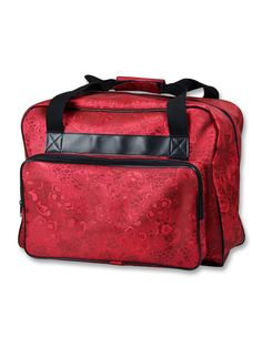 Janome Red Sewing Machine Tote at Joann.com