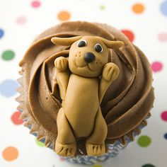 puppy cupcakes | Cat and Dog Cupcakes | Flickr - Photo Sharing!