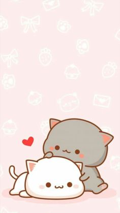 Cats by Patricia Iphone Wallpaper Cat, Unicornios Wallpaper, Cute Cat Wallpaper, Kawaii Wallpaper, Pastel Wallpaper, Cute Cartoon Images, Cute Cartoon Wallpapers, Wallpapers Android, Cute Anime Cat