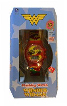 Wonder Woman Flashing Lights LCD Watch DC Comics http://www.amazon.com/dp/B00PIVDAHQ/ref=cm_sw_r_pi_dp_7.N2vb0SG6BSA