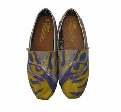 I absolutey love these!!!!  LSU Tiger TOMS