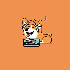 Web-twerk.gif Corgi Gif, Corgi Drawing, Animals And Pets, Cute Animals, Corgi Pembroke, Amazon Prime Day, Cute Corgi, Animation, Cute Gif