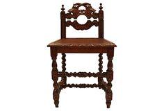 Spindle-Leg Accent Chair on OneKingsLane.com