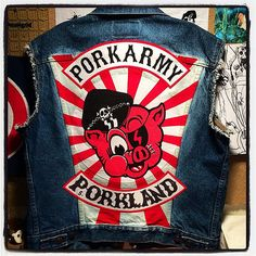 Done with the back panel! #porkarmy #porkland #workinprogress   Flickr - Photo Sharing!