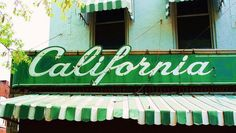 My brother-in-law Jason lives in Los Angeles. I can really see why people love California. California Sign, Vintage California, Southern California, Great Places, Beautiful Places, I Love La, Cali Girl, Its A Wonderful Life, Vintage Signs