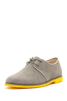 5dee5c9b93c9bd Klein Suede Oxford Chaussure, Chaussures Brillantes, Chaussures Rouges,  Derby En Daim, Style
