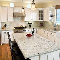 Cream Granite Design Ideas, Pictures, Remodel, and Decor
