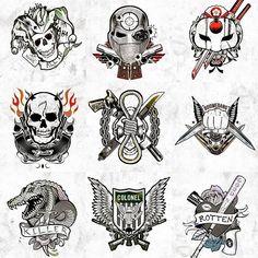 Resultado de imagem para foto das tatuagens da harley