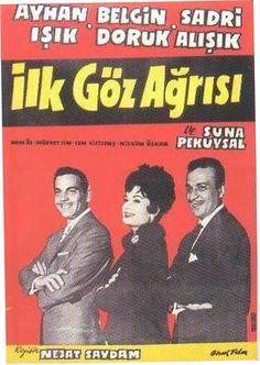 Siyah - Beyaz Türk filmleri denilince aklımıza ilk gelen isimler Ayhan Işık ve Belgin Doruk oluyor. Şarkılı filmler dönemi, 1950'lerde Zeki Müren'le sürdürüldü. Fatma Girik, Leyla Sayar, Orhan Günşiray, Ekrem Bora gibi isimlerin yanında   1959'da vizyona giren ''Fosforlu Cevriye'' adlı filmiyle Neriman Köksal, ''Cilalı İbo'' serisiyle de  Feridun Karakaya ön plana çıkmıştır.  Yılmaz Güney ise ilk oyunculuk denemelerine 1959 yılında başladı.