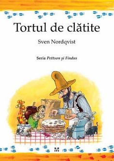 Pettson and Findus is a series of children's books written and illustrated by Swedish author Sven Nordqv. Elsa Beskow, Son Chat, Cat Colors, Book Week, Grandchildren, Cat Art, Childrens Books, Illustrators, Yorkie
