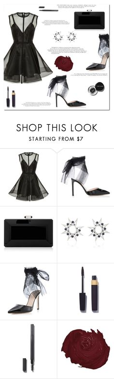 """365"" by marinelatadic ❤ liked on Polyvore featuring Alex Perry, Judith Leiber, Colette Jewelry and Bobbi Brown Cosmetics"