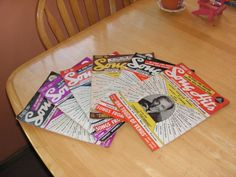 Bundle of 17  1940's song magazines by LittleBitsBazaar on Etsy