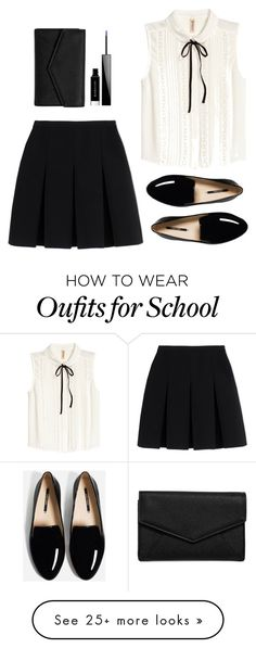 """the school season"" by rina-prescott on Polyvore featuring Alexander Wang, LULUS and Givenchy"