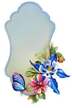 "Photo from album ""Этикетки"" on Yandex. Framed Wallpaper, Pink Wallpaper, Wallpaper Backgrounds, Wallpapers, Art Floral, Flower Frame, Flower Art, Foto Frame, Boarders And Frames"
