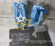 Hello Stampers     Quick project for today a star bag or some call it star box. If you plan to make many of them trust me after the first...