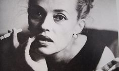 Jeanne Moreau: force of nature.