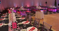 Celebrate at #Hilton Pearl River in the beautiful Grand Ballroom, flexible for any style occasion.