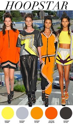 "FW 14/15, women's active trend report, ""Hoopstar"""