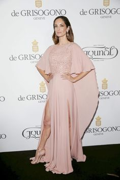 Eugenia Silva en Cannes 2015 de Elie Saab Resort 2015.