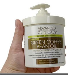 skin tightening oil Advanced Clinicals Green Coffee Bean Oil Thermo-firming Body Cream 16oz Spa Size $11.08 & FREE Shipping on orders over $25.