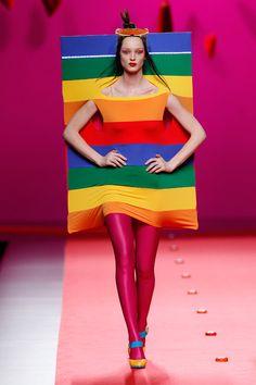LTVs, Agatha Ruiz de la Prada....I've always wanted to look like a box of crayons!