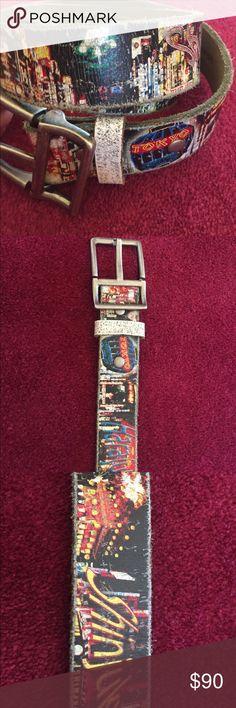 Limited edition Tokyo belt Leather Island limited edition Tokyo belt size 33 Leather Island Accessories Belts