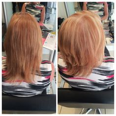 One length cut with a smooth blowdry to finish 28/07/15