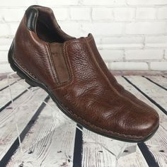 Cole Haan Mens Loafer 9 Brown Leather Driving shoe Driving SHoe #ColeHaan #Oxfords