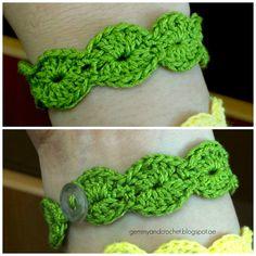 Scallop crochet