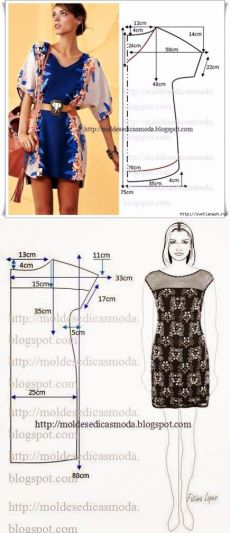 passionforum.ru Skirt Patterns Sewing, Clothing Patterns, Sewing Men, Sewing Clothes, Women's Fashion Dresses, Diy Fashion, Velvet Dress Designs, Simple Summer Dresses, Shift Dress Pattern