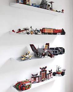 Great shelves for displaying legos.  I need like 20 of them.