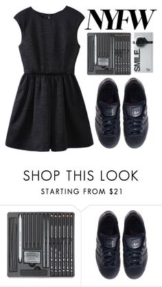 """""""Sans"""" by willneverdie ❤ liked on Polyvore featuring adidas"""